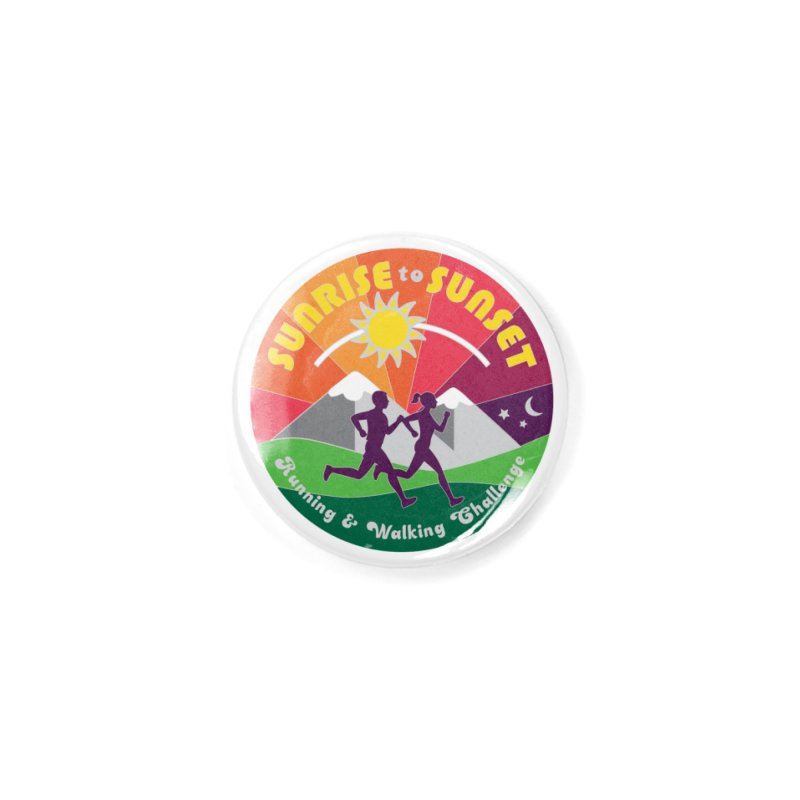 Sunrise to Sunset Accessories Button by Moon Joggers's Artist Shop