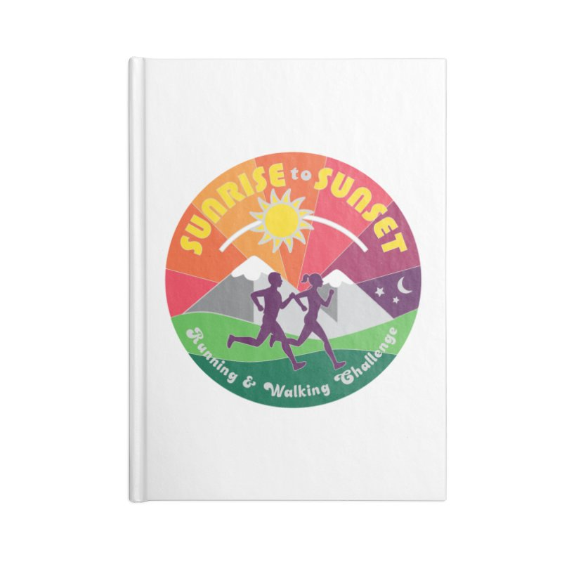 Sunrise to Sunset Accessories Notebook by Moon Joggers's Artist Shop