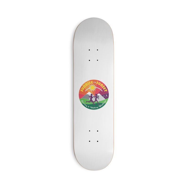 Sunrise to Sunset Accessories Skateboard by Moon Joggers's Artist Shop