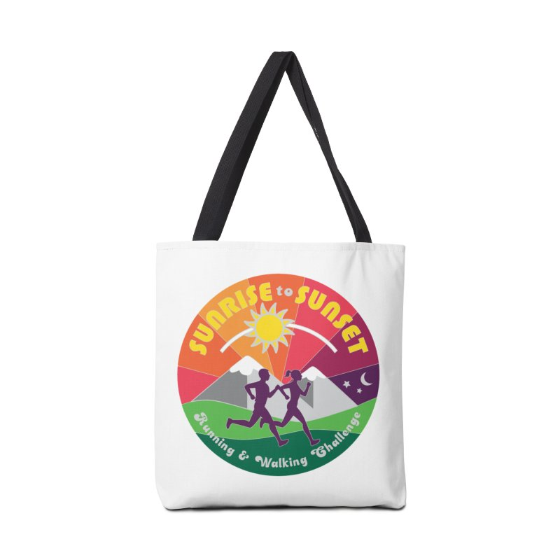 Sunrise to Sunset Accessories Bag by Moon Joggers's Artist Shop