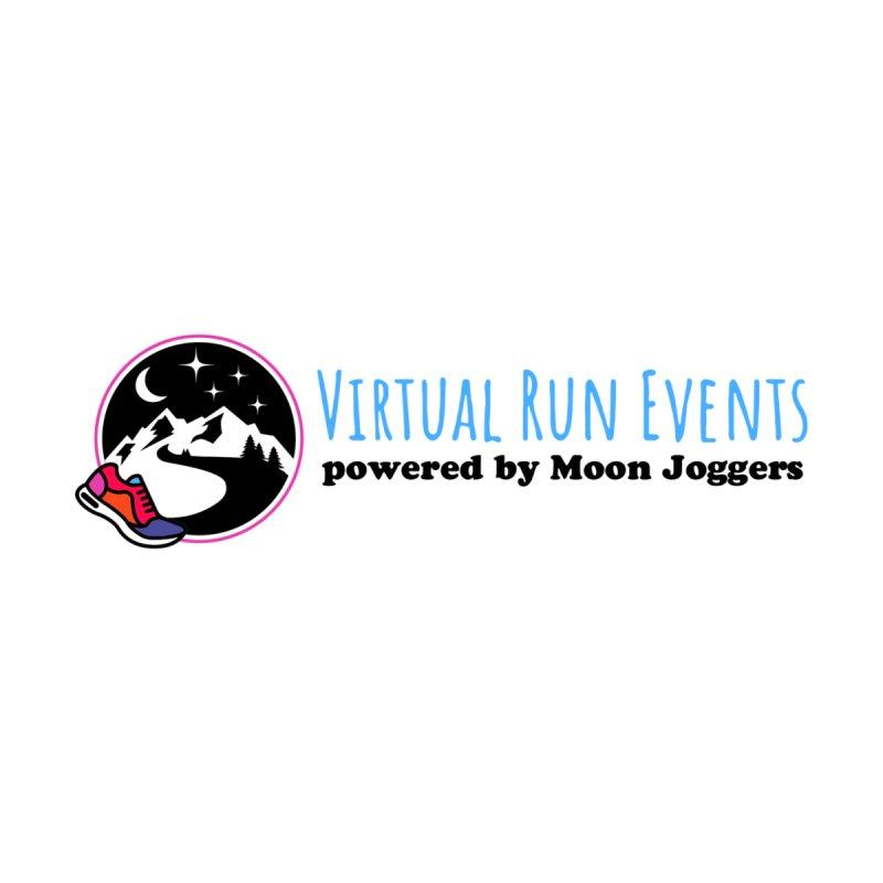 Virtual Run Events powered by Moon Joggers Men's Longsleeve T-Shirt by Moon Joggers's Artist Shop