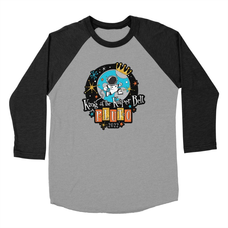 PLUTO! King of the Kuiper Belt – Running and Walking Challenge Women's Longsleeve T-Shirt by Moon Joggers's Artist Shop