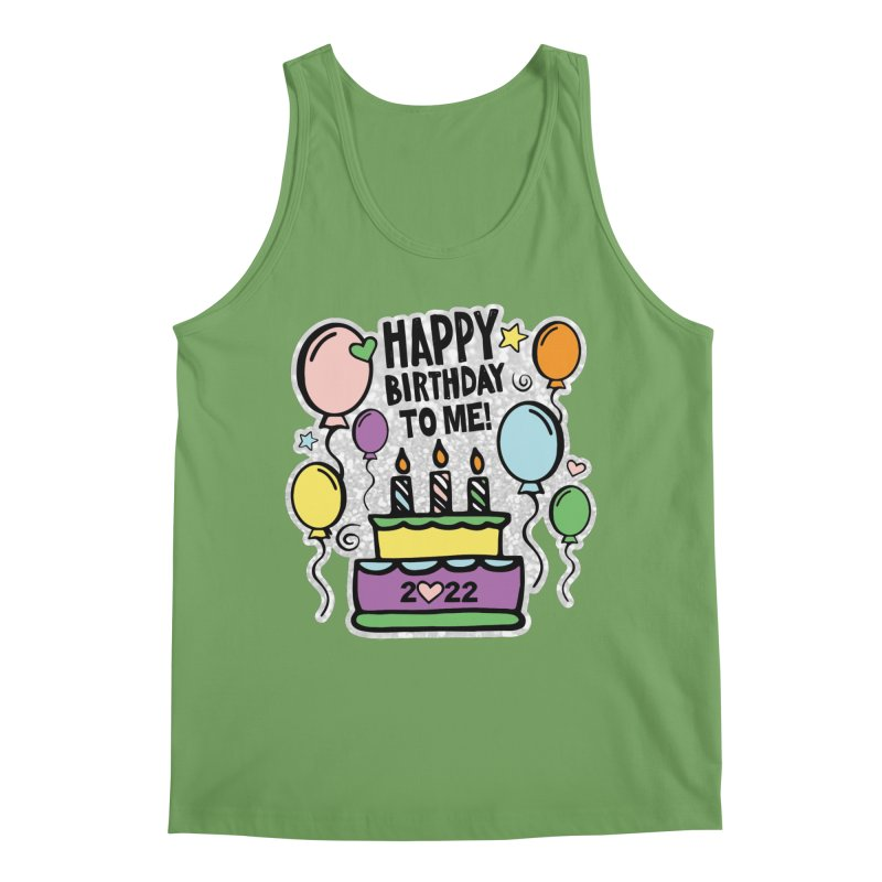 Happy Birthday to Me 2022! Men's Tank by Moon Joggers's Artist Shop