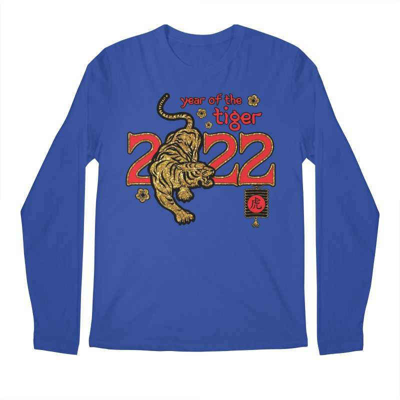 Year fo the Tiger 2022 Men's Longsleeve T-Shirt by Moon Joggers's Artist Shop