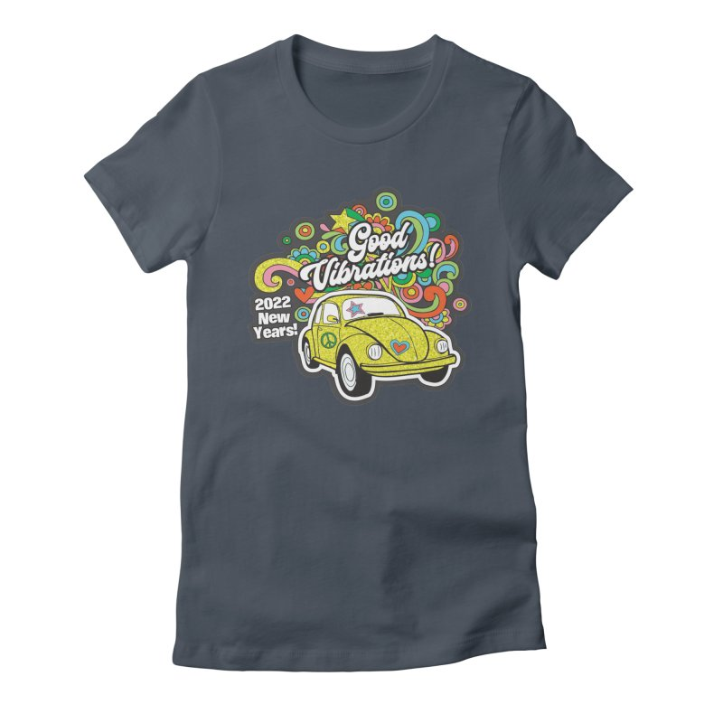 Good Vibrations New Year 2022! Women's T-Shirt by Moon Joggers's Artist Shop