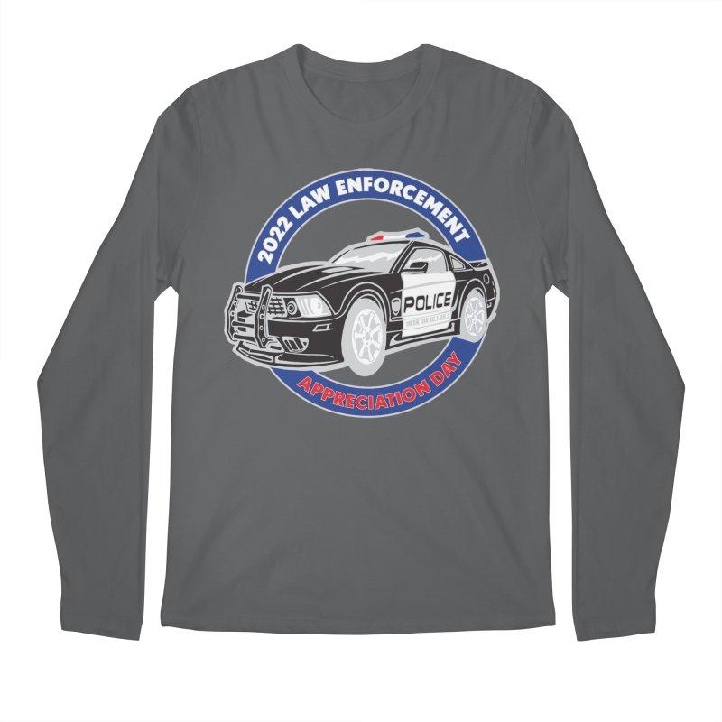 Law Enforcement Appreciation Men's Longsleeve T-Shirt by Moon Joggers's Artist Shop
