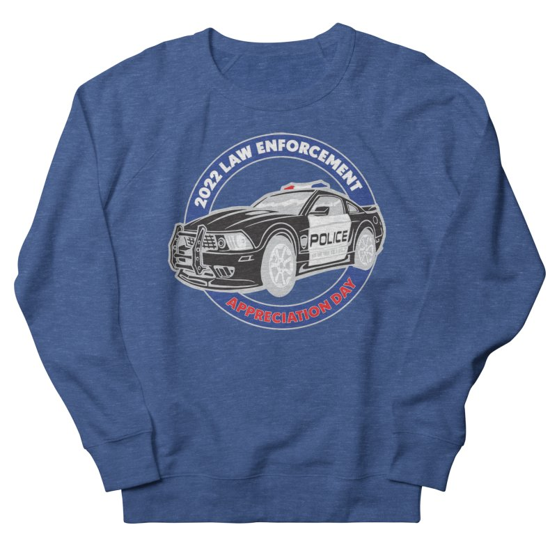 Law Enforcement Appreciation Men's Sweatshirt by Moon Joggers's Artist Shop