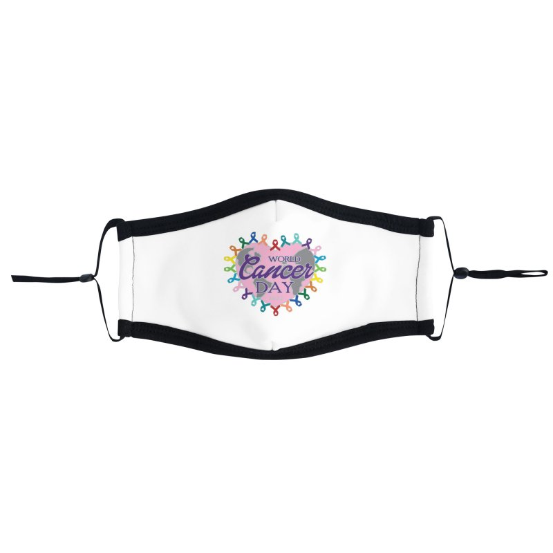 World Cancer Day Accessories Face Mask by Moon Joggers's Artist Shop