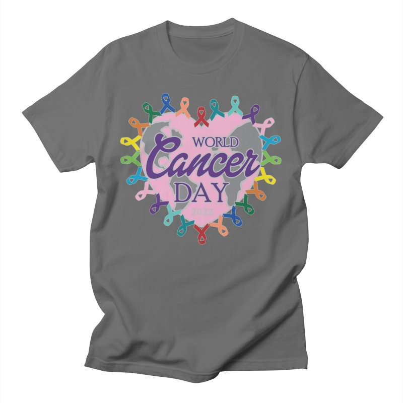 World Cancer Day Men's T-Shirt by Moon Joggers's Artist Shop