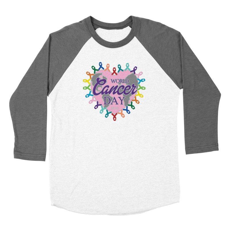 World Cancer Day Women's Longsleeve T-Shirt by Moon Joggers's Artist Shop