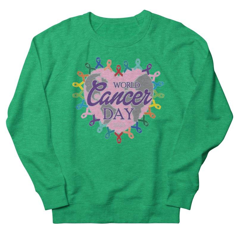 World Cancer Day Women's Sweatshirt by Moon Joggers's Artist Shop