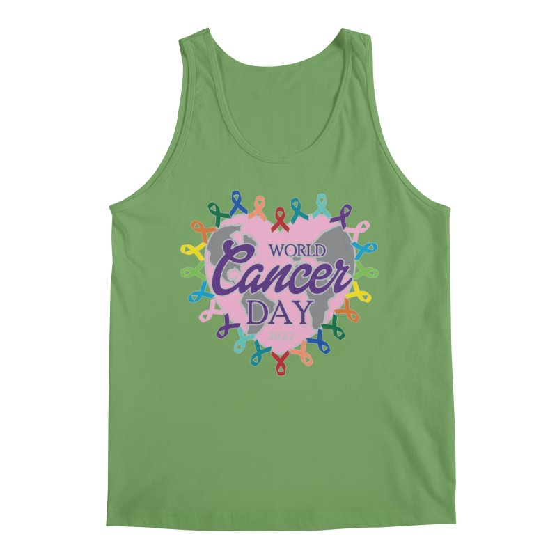 World Cancer Day Men's Tank by Moon Joggers's Artist Shop