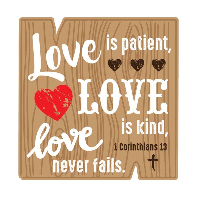 Love is Patient Men's T-Shirt by Moon Joggers's Artist Shop