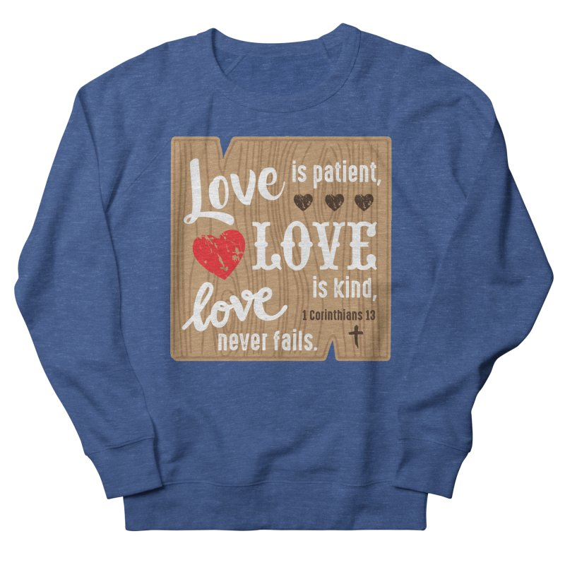 Love is Patient Men's Sweatshirt by Moon Joggers's Artist Shop