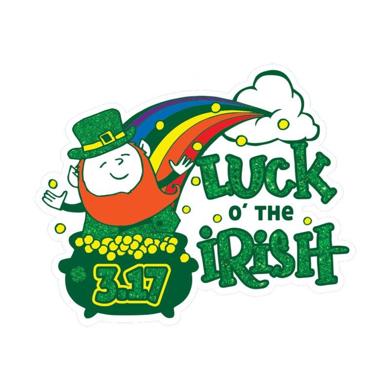 Luck of the Irish Men's T-Shirt by Moon Joggers's Artist Shop
