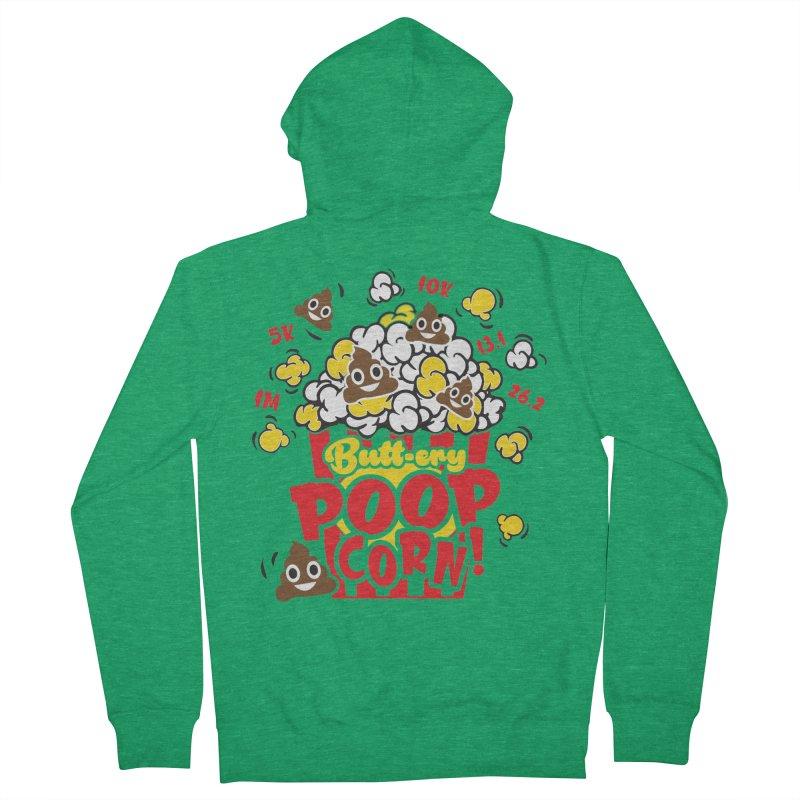 Poop Day! Men's Zip-Up Hoody by Moon Joggers's Artist Shop