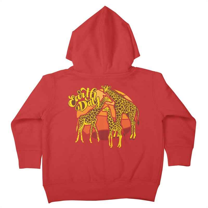 Earth Day Kids Toddler Zip-Up Hoody by Moon Joggers's Artist Shop