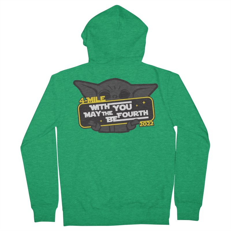 May the 4th Be With You Men's Zip-Up Hoody by Moon Joggers's Artist Shop