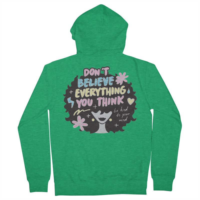 Be Kind to Your Mind Men's Zip-Up Hoody by Moon Joggers's Artist Shop