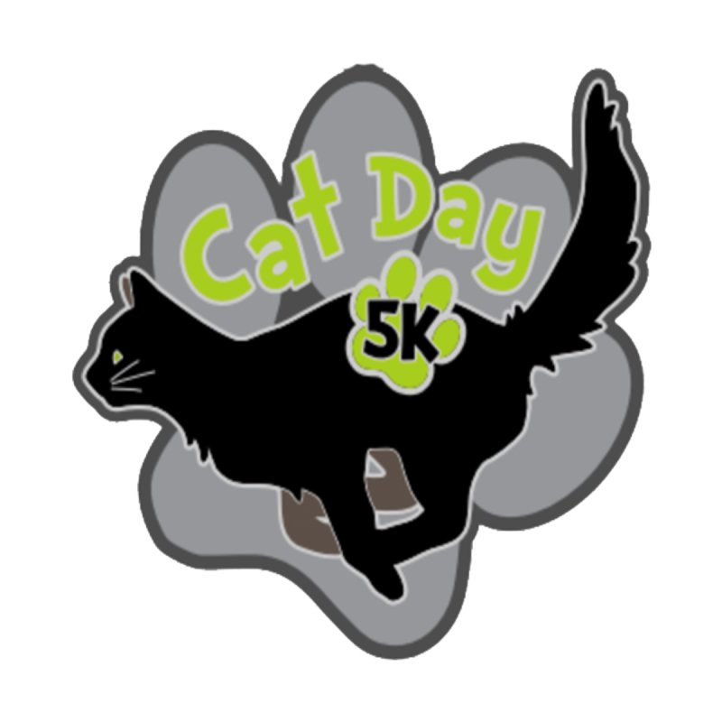 Cat Day 5K by moonjoggers's Artist Shop