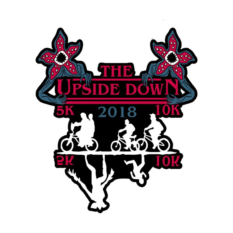 The Upside Down 5K & 10K by Moon Joggers's Artist Shop