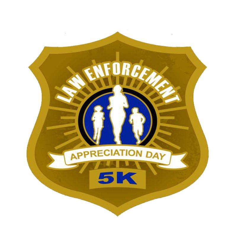 Law Enforcement Appreciation Day 5K by moonjoggers's Artist Shop