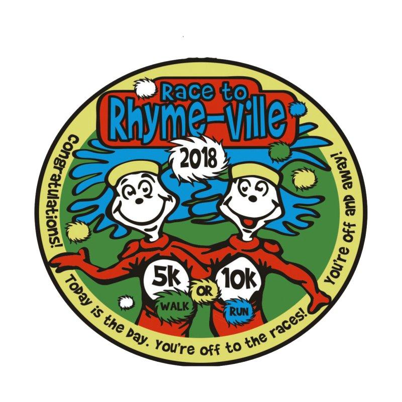Race to Rhyme-ville 5K & 10K by moonjoggers's Artist Shop