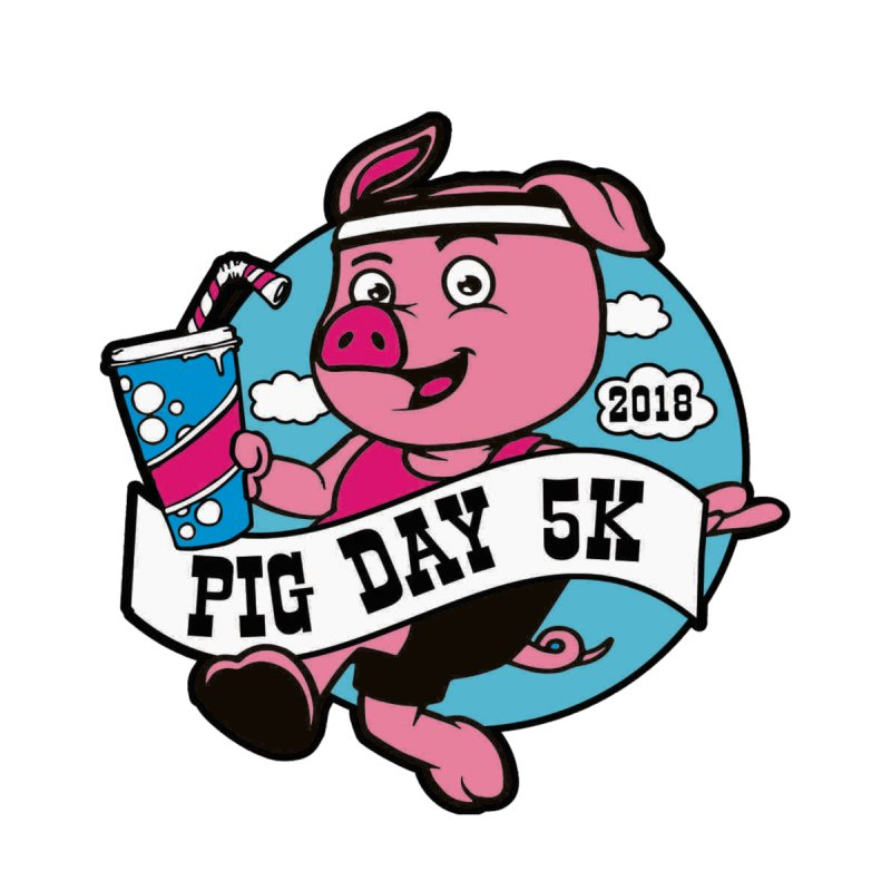 Pig Day 5K by moonjoggers's Artist Shop