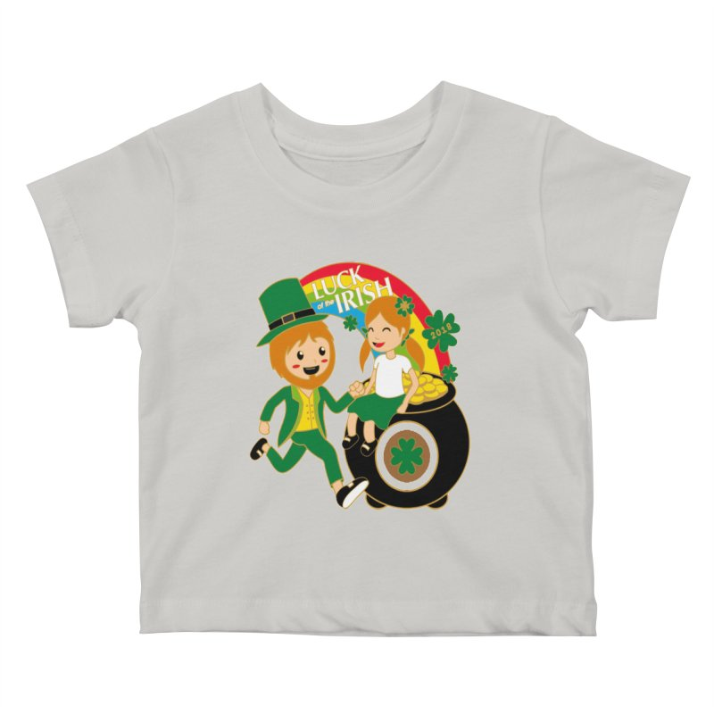 Luck of the Irish Kids Baby T-Shirt by moonjoggers's Artist Shop
