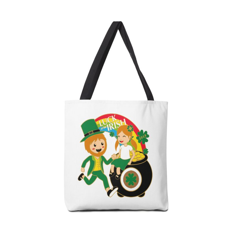 Luck of the Irish Accessories Bag by moonjoggers's Artist Shop
