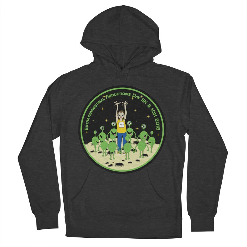 ExtraTerrestrials Abduction Day 5K & 10K Women's Pullover Hoody by moonjoggers's Artist Shop
