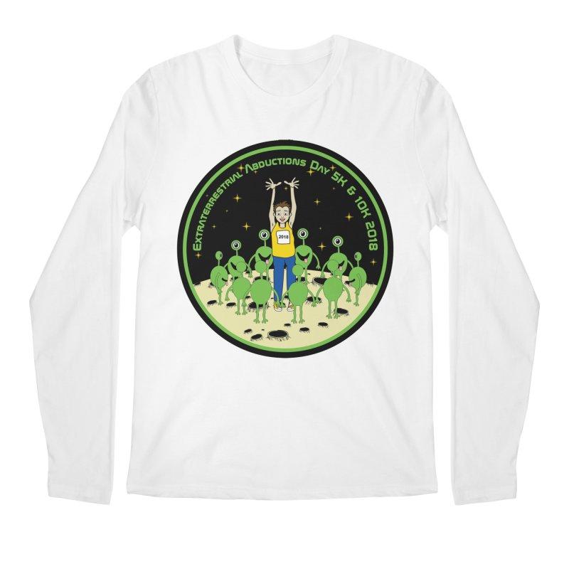ExtraTerrestrials Abduction Day 5K & 10K Men's Longsleeve T-Shirt by moonjoggers's Artist Shop