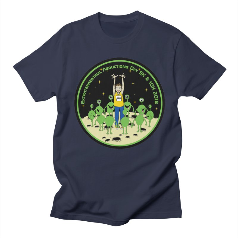 ExtraTerrestrials Abduction Day 5K & 10K Men's T-Shirt by moonjoggers's Artist Shop