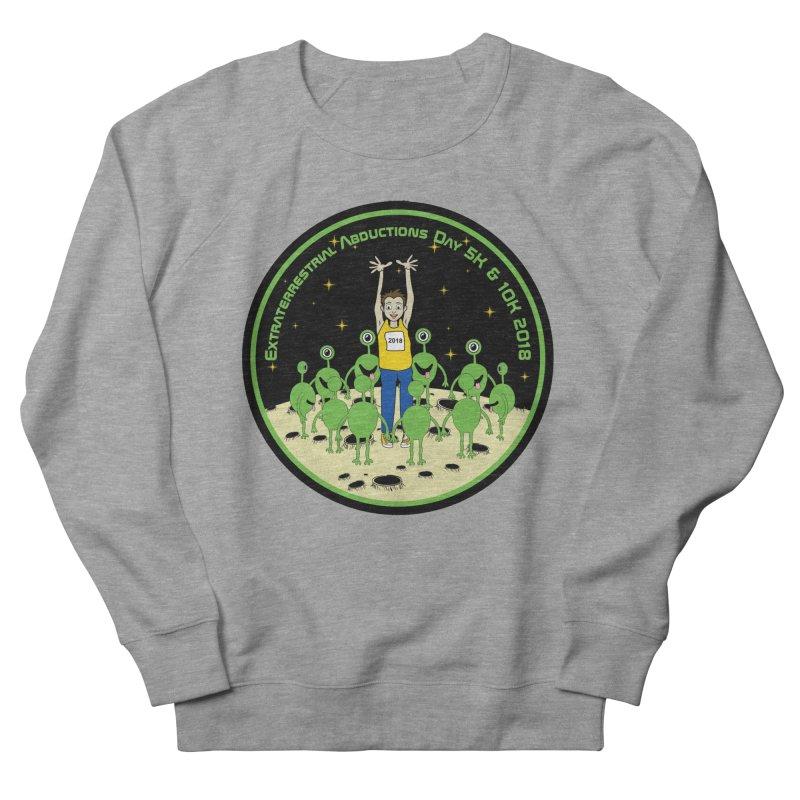 ExtraTerrestrials Abduction Day 5K & 10K Men's Sweatshirt by moonjoggers's Artist Shop