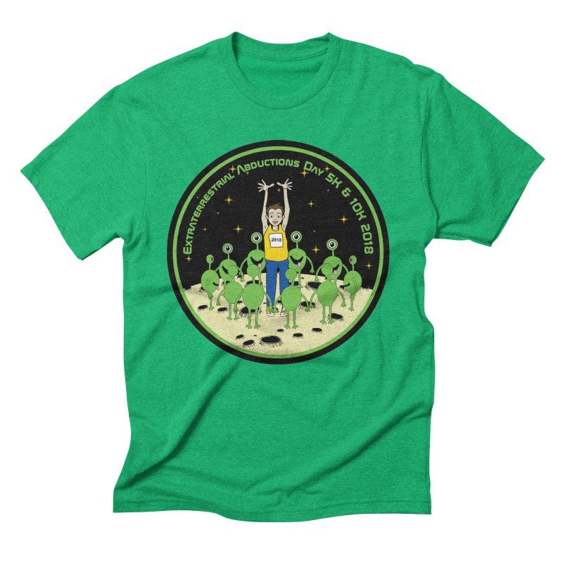 ExtraTerrestrials Abduction Day 5K & 10K Men's Triblend T-Shirt by moonjoggers's Artist Shop