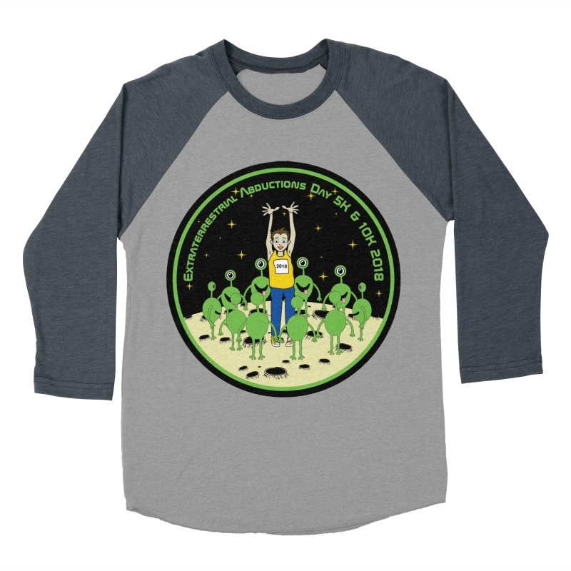 ExtraTerrestrials Abduction Day 5K & 10K Women's Baseball Triblend T-Shirt by moonjoggers's Artist Shop