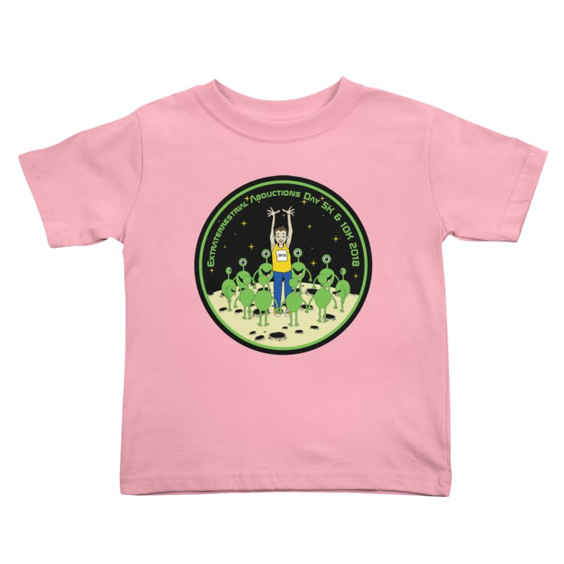 ExtraTerrestrials Abduction Day 5K & 10K Kids Toddler T-Shirt by moonjoggers's Artist Shop