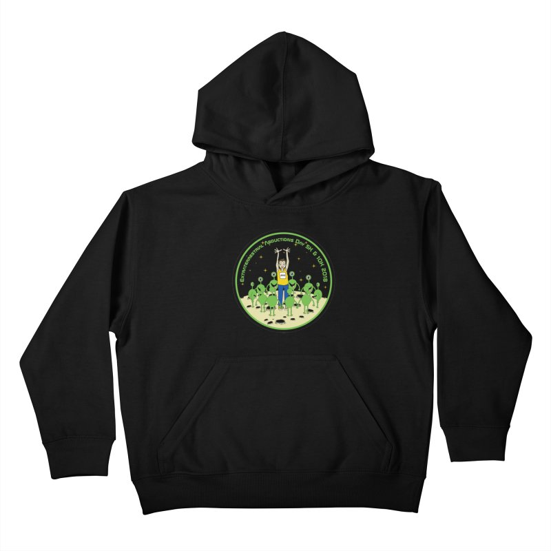 ExtraTerrestrials Abduction Day 5K & 10K Kids Pullover Hoody by moonjoggers's Artist Shop