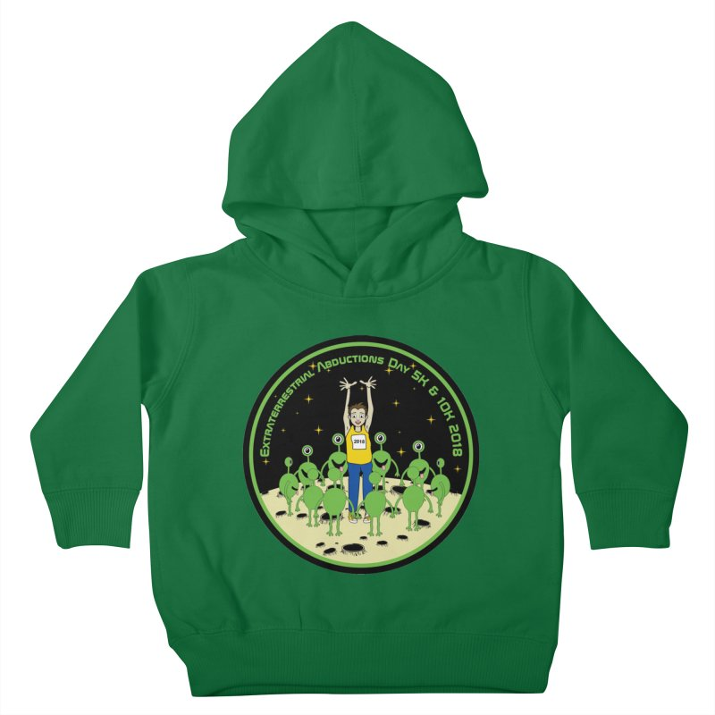 ExtraTerrestrials Abduction Day 5K & 10K Kids Toddler Pullover Hoody by moonjoggers's Artist Shop