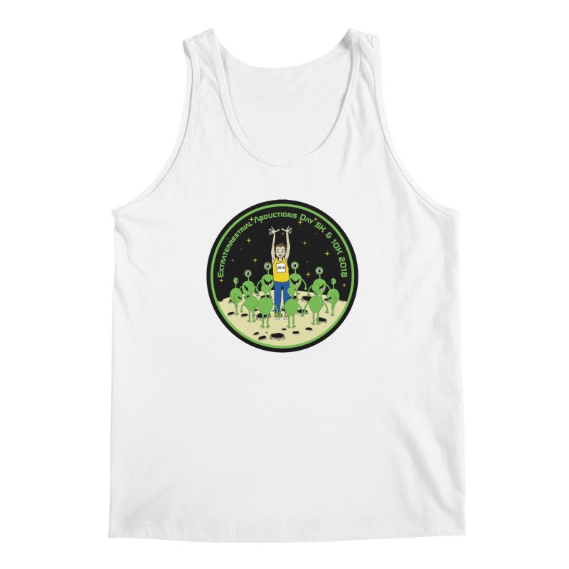 ExtraTerrestrials Abduction Day 5K & 10K Men's Tank by moonjoggers's Artist Shop