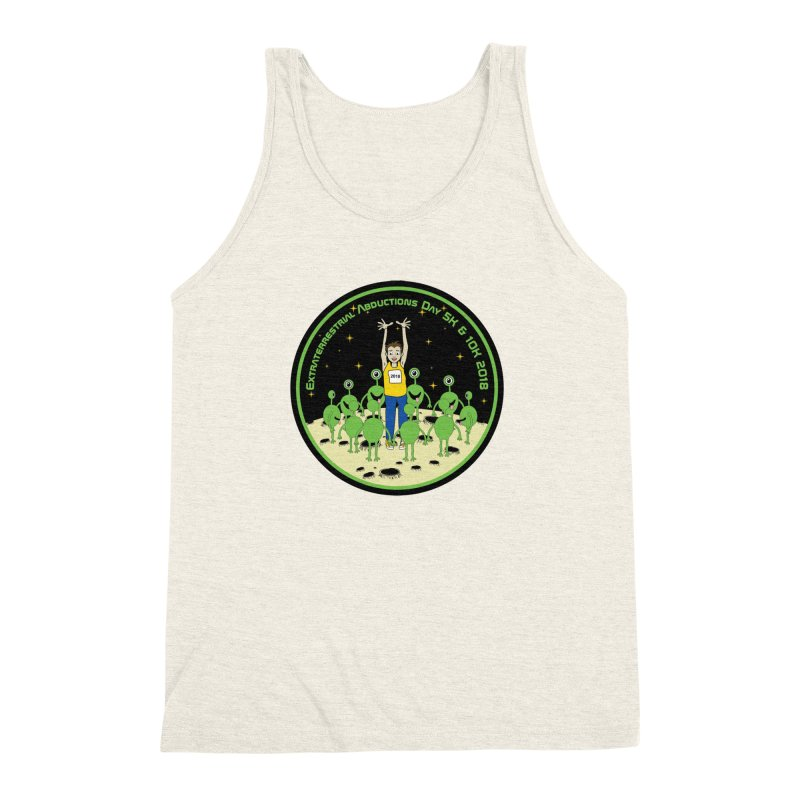 ExtraTerrestrials Abduction Day 5K & 10K Men's Triblend Tank by moonjoggers's Artist Shop