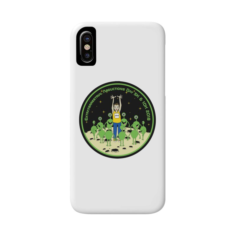 ExtraTerrestrials Abduction Day 5K & 10K Accessories Phone Case by moonjoggers's Artist Shop