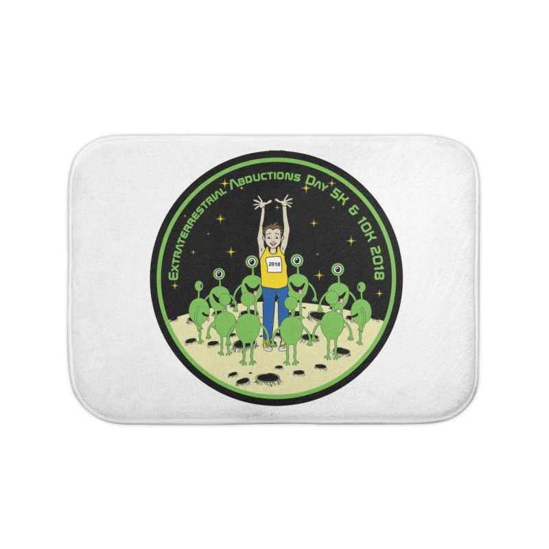 ExtraTerrestrials Abduction Day 5K & 10K Home Bath Mat by moonjoggers's Artist Shop