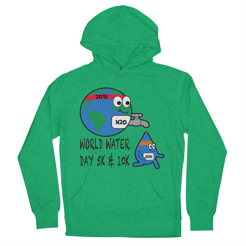 World Water Day 5K & 10K Men's Pullover Hoody by moonjoggers's Artist Shop