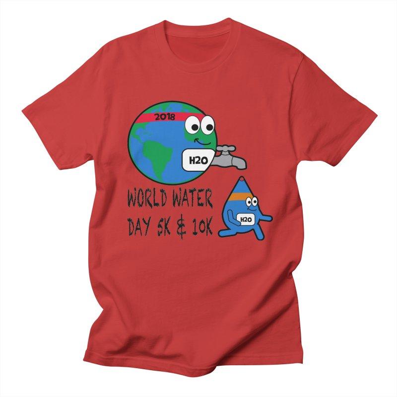 World Water Day 5K & 10K Women's Unisex T-Shirt by moonjoggers's Artist Shop