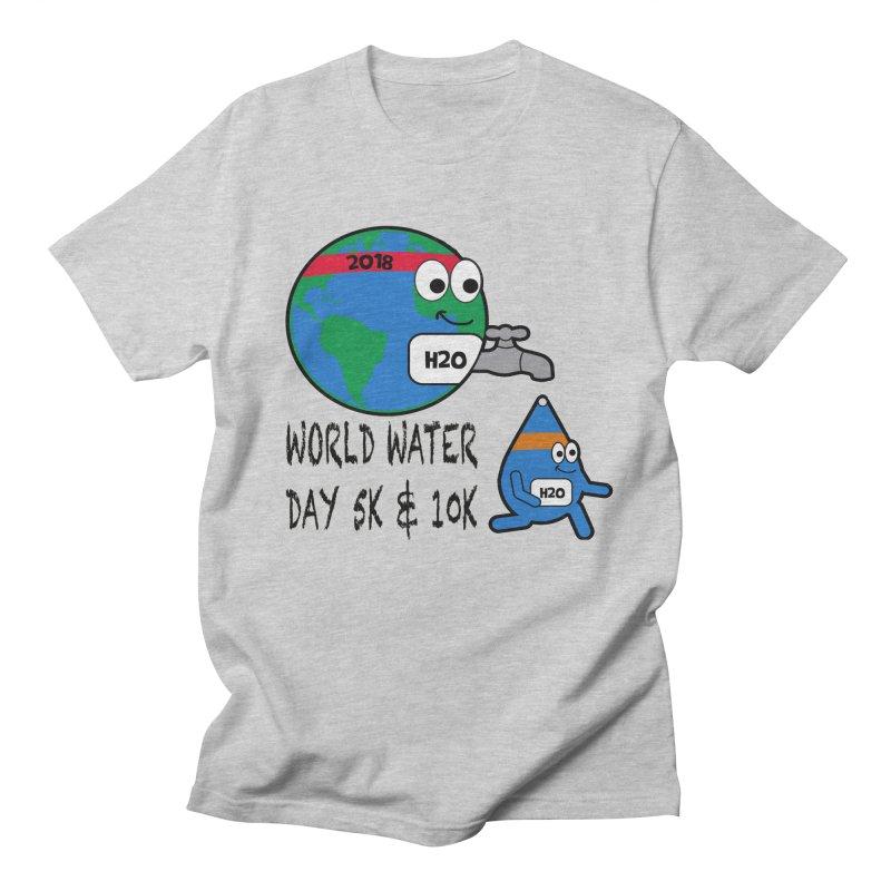 World Water Day 5K & 10K Men's T-Shirt by moonjoggers's Artist Shop