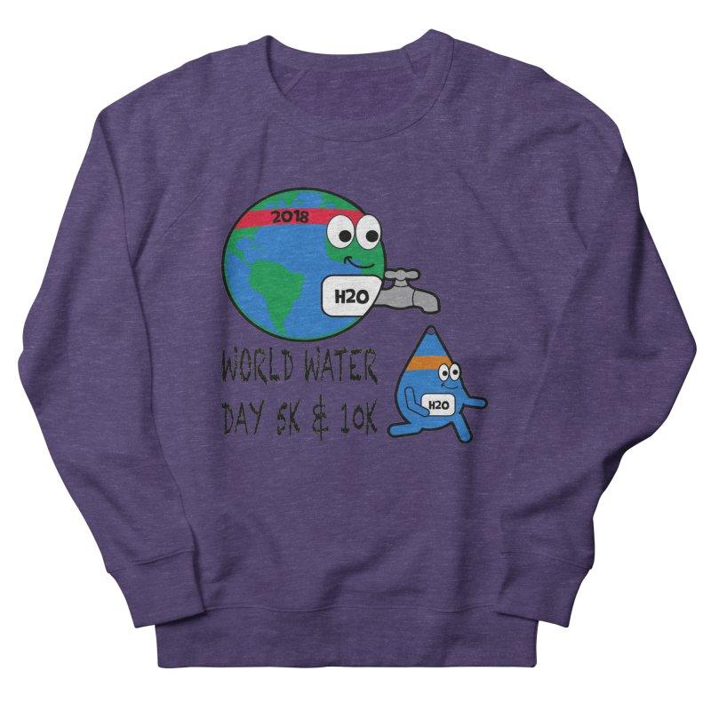 World Water Day 5K & 10K Men's Sweatshirt by moonjoggers's Artist Shop