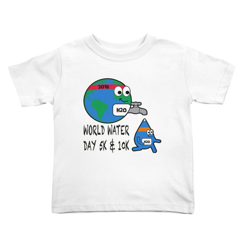World Water Day 5K & 10K Kids Toddler T-Shirt by moonjoggers's Artist Shop