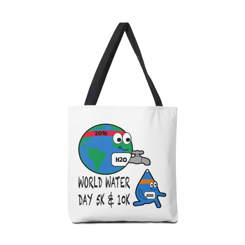World Water Day 5K & 10K Accessories Bag by moonjoggers's Artist Shop