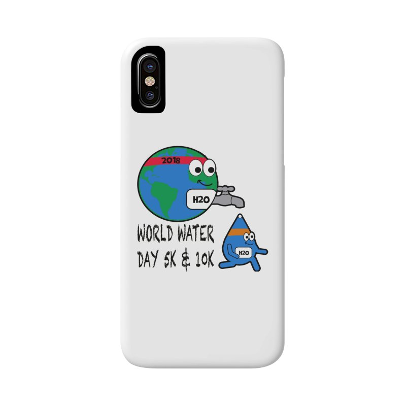 World Water Day 5K & 10K Accessories Phone Case by moonjoggers's Artist Shop